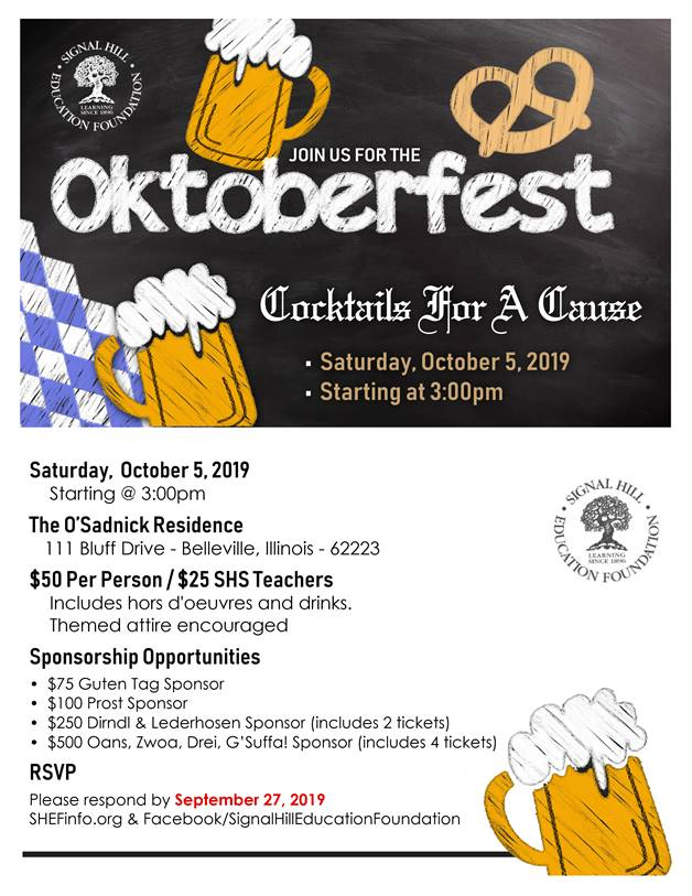 Oktoberfest – SHEF's 2019 Cocktails for A Cause